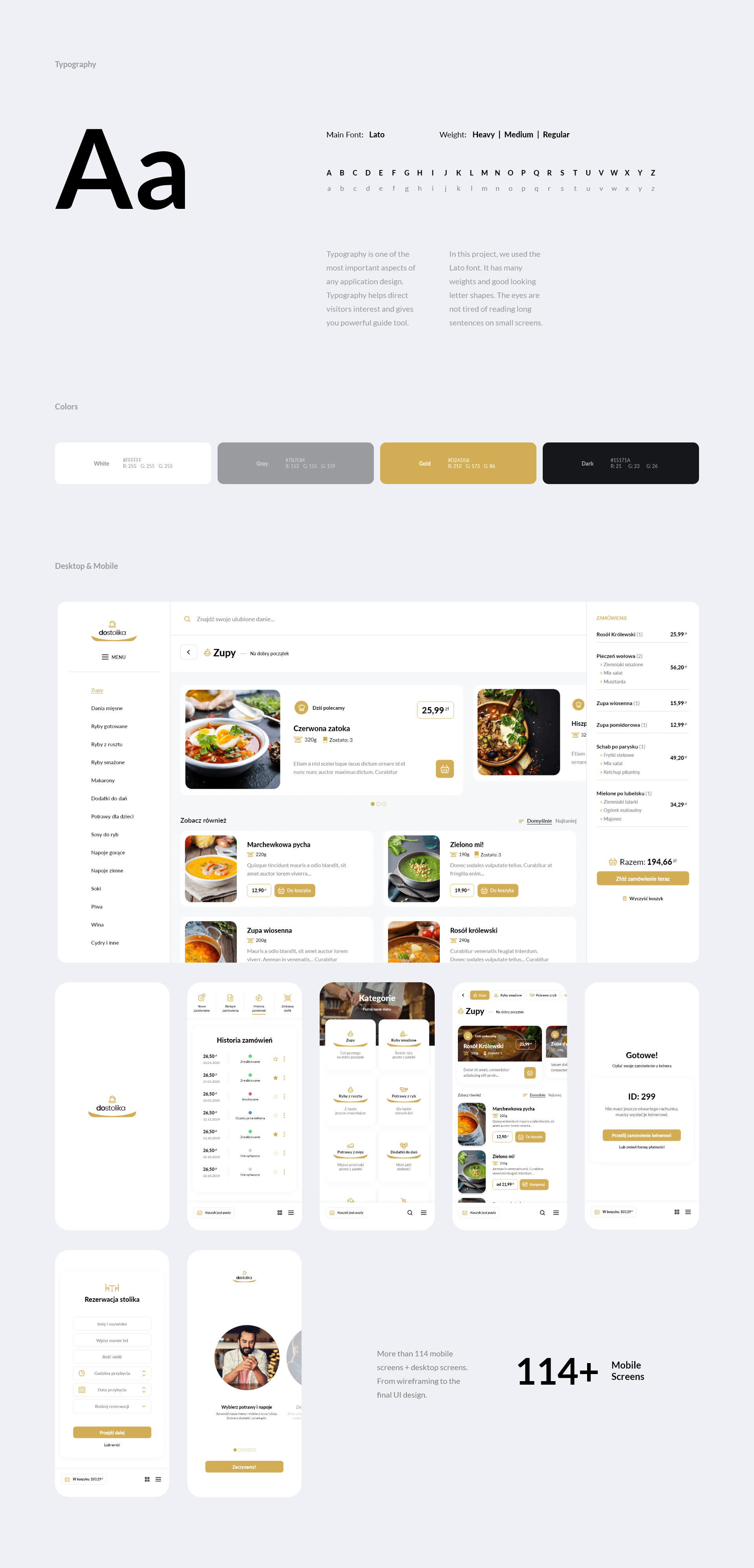 UI/UX PWA app design